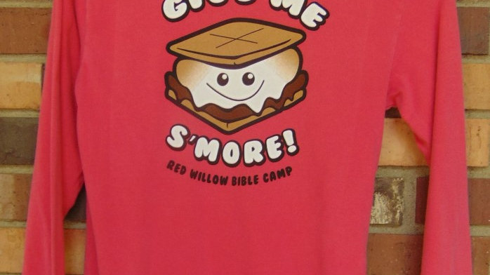 'Give Me S'More!' Crew Neck Long Sleeve Youth Tee