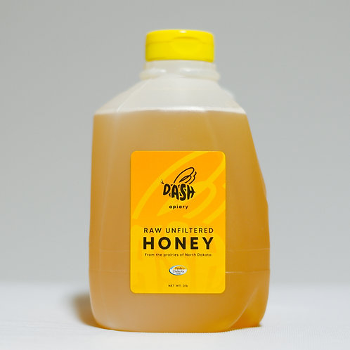 Raw Honey - 3lb Jug
