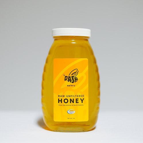 Raw Honey - 2lb Glass