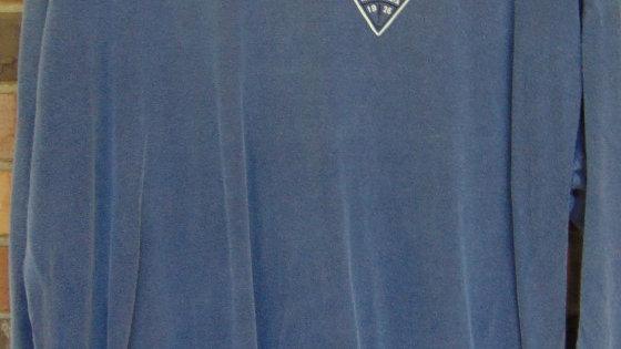 Adult Blue Long Sleeve Shirt