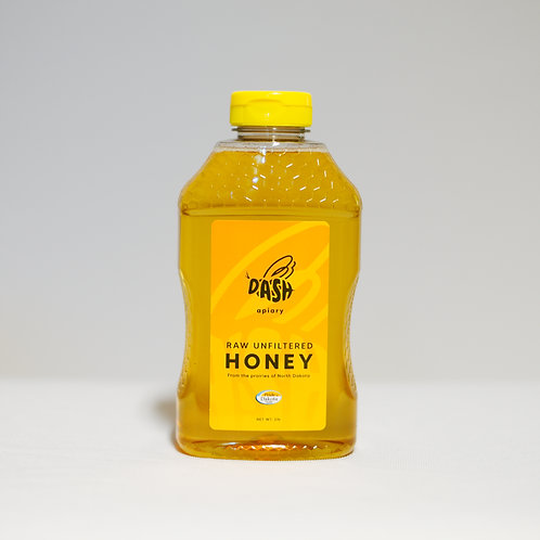Raw Honey - 1lb Squeeze
