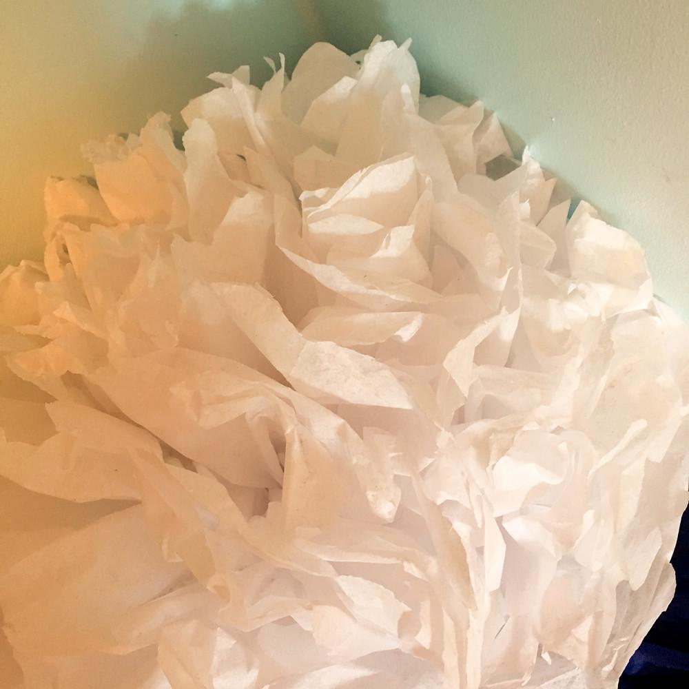 Giant Tissue Paper Flower