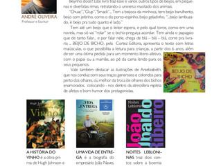 Resenhas e dicas de livros infantis na revista Leque