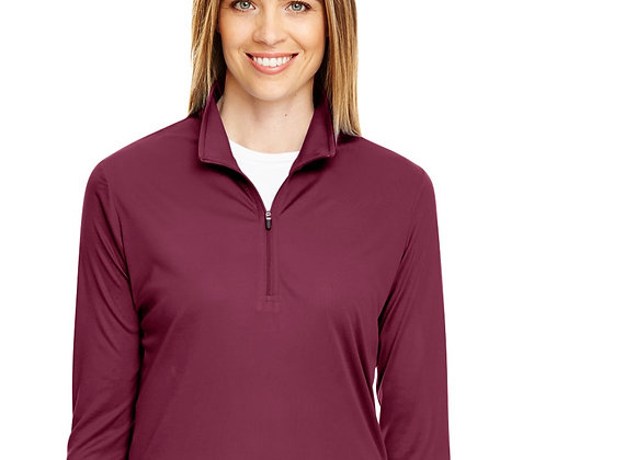 Long sleeve quarter zip