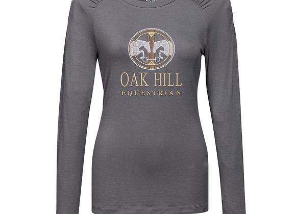 Oakhill Tri-Mountain Long Sleeve T-Shirt