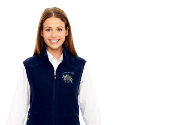 Footlight Farm Fleece Vest (Sizes: Mens/Womens)