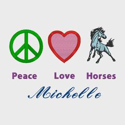 PeaceLoveHorses