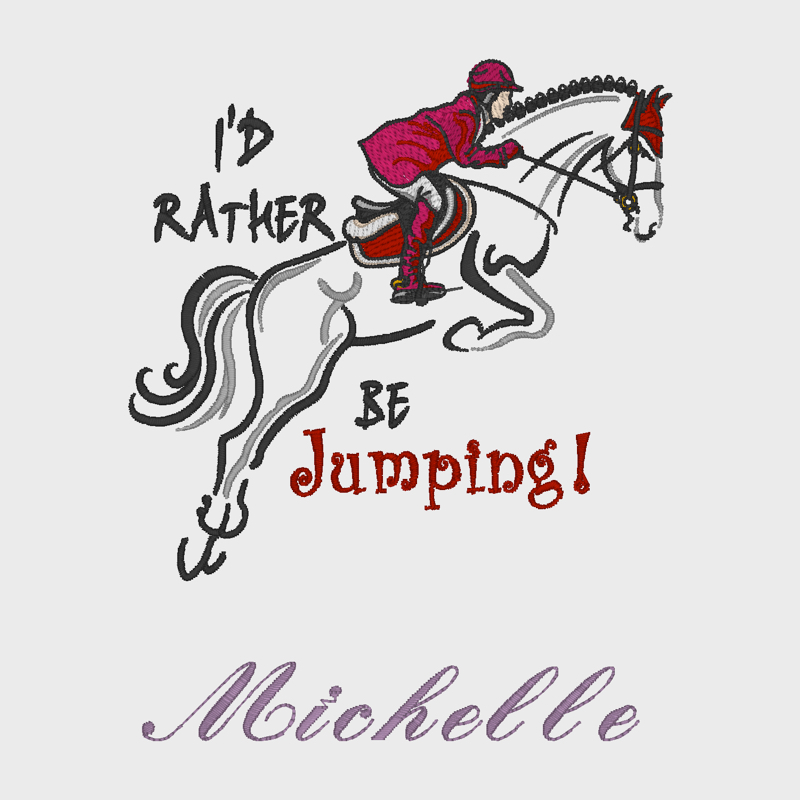 I'd rather be Jumping!
