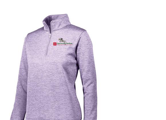 Augusta Women's 1/4 Tonal Sweatshirt