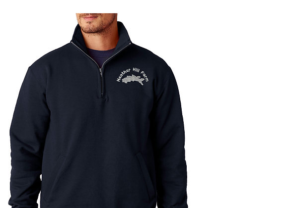 Heather Hill Farm Adult Q-Zip Sweatshirt