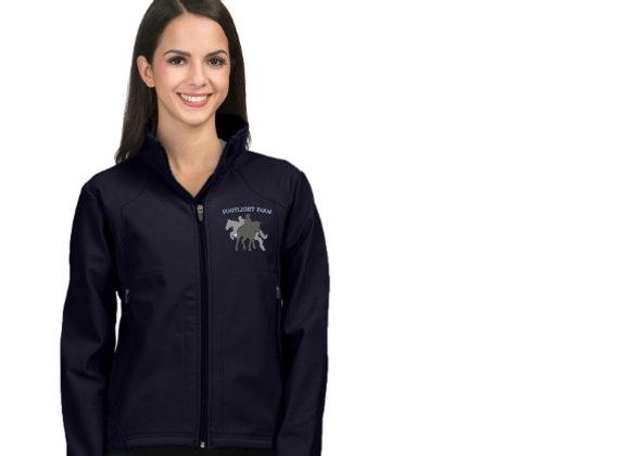 Footlight Farm Tri-Mountain Soft Shell Jacket (Sizes:Mens/Womens)