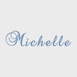 Name script letters