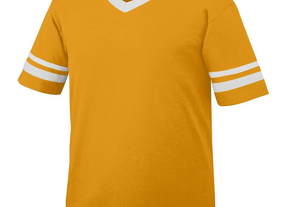 Sleeve Stripe Jersey T-Shirt