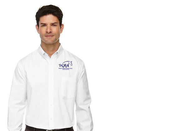 PQHA Long Sleeve Adult Twill Shirt