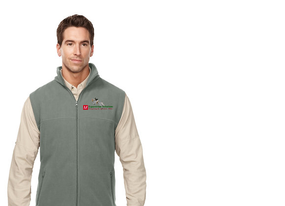 Tri-Mountain Men's Fleece Vest