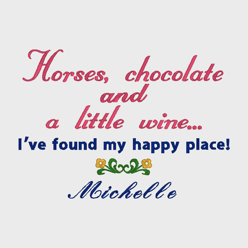 Horses & chocolate