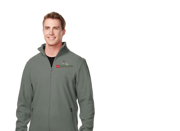 Tri-Mountain Men's Micro Fleece Jacket