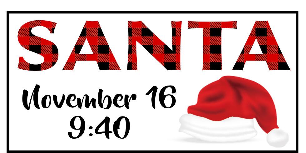Santa Sessions - Nov 16 @ 9:40