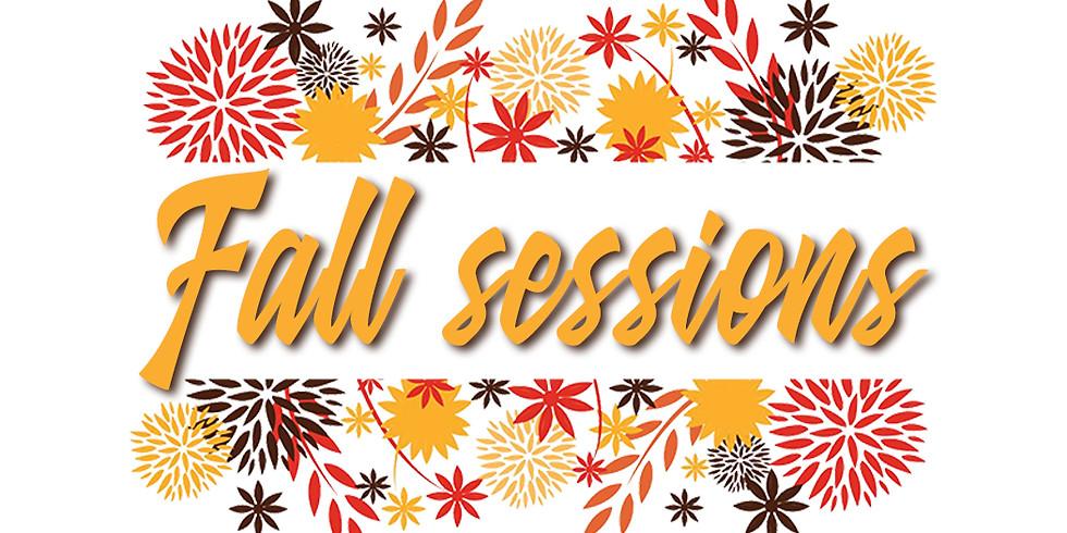Fall Session - Nov. 30th @ 4:00