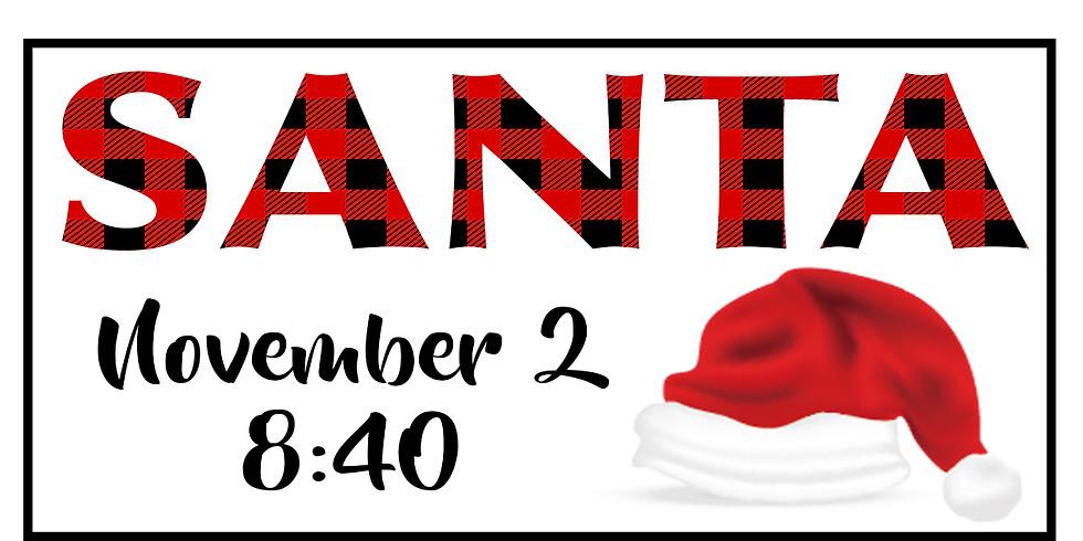 Santa Sessions - Nov 2 @ 8:40