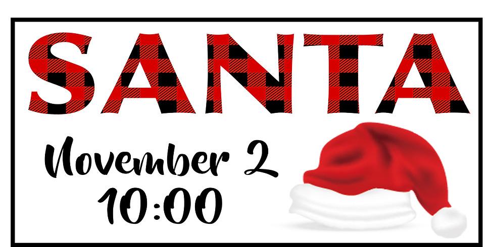 Santa Sessions - Nov 2 @ 10:00