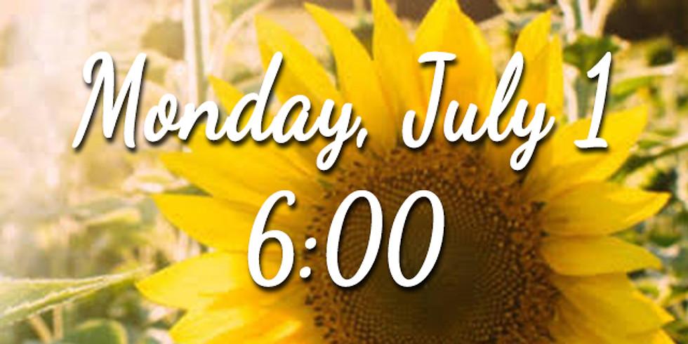 Sunflower Session - Monday 6:00