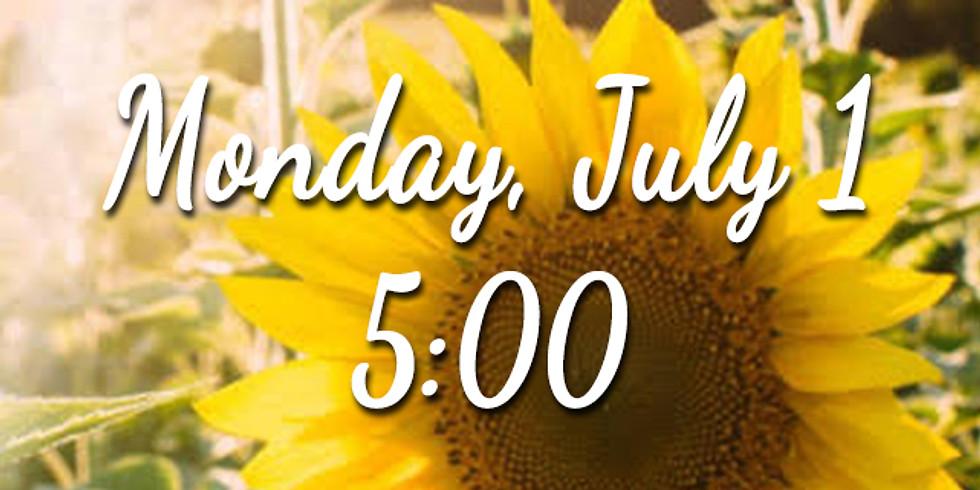 Sunflower Session - Monday 5:00 (1)
