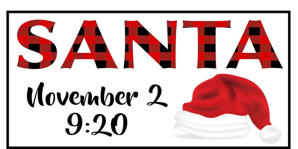Santa Sessions - Nov 2 @ 9:20