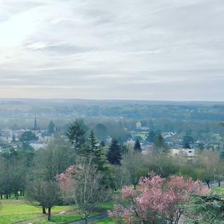 Jour 4 : Châtellerault. 95km. Total : 340km.
