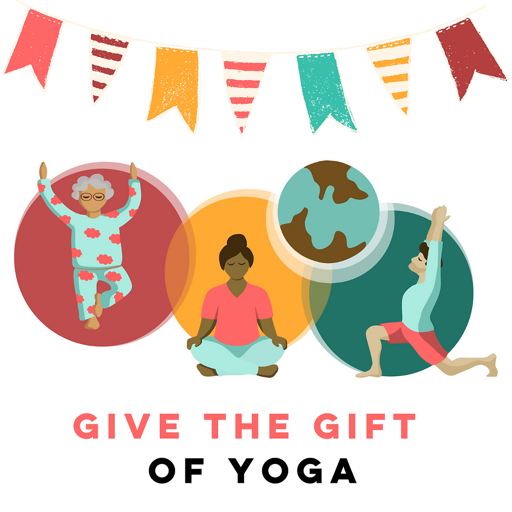 the frog project live online yoga artwork with yogis from all around the world celebrating their first online birthday by giving the gift of yoga