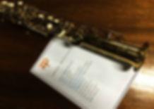 saxofone e roteiro do casamento
