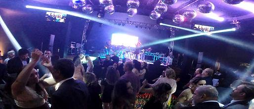 pista de dança e palco