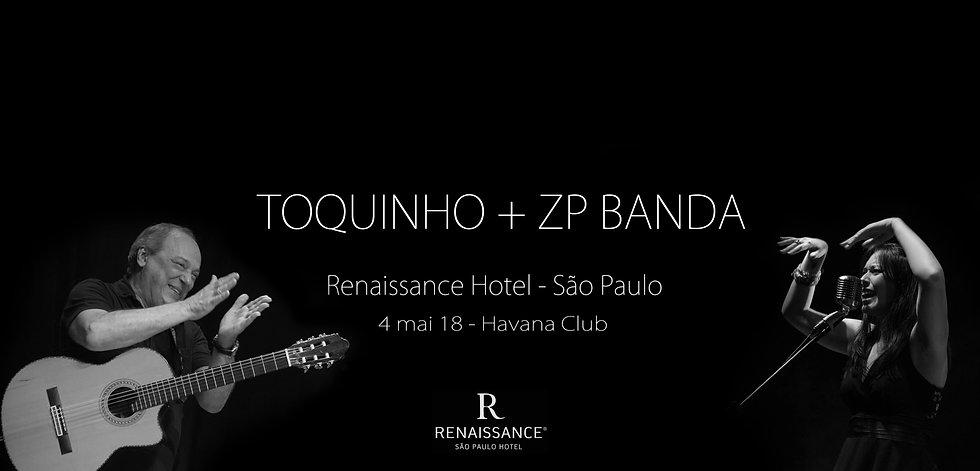zp banda com Toquinho em SP
