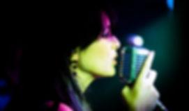 cantora da ZP Banda/dj