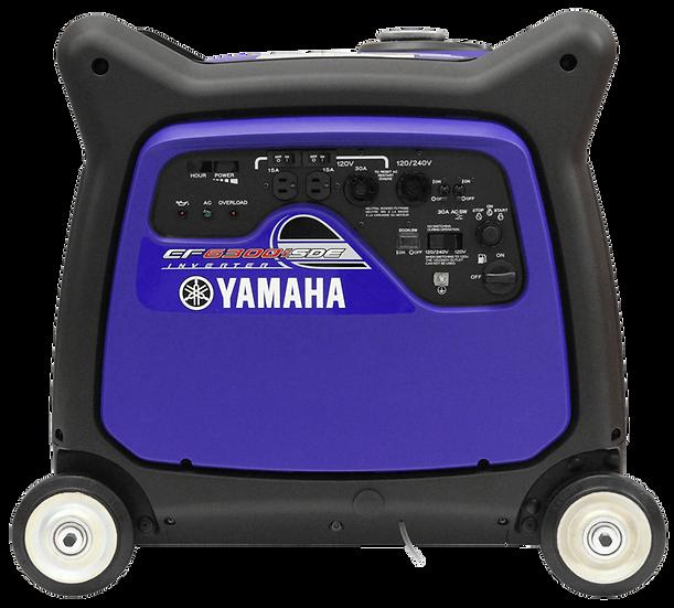 Yamaha EF6300iSDE Inverter Portable Generator