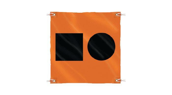 Distress Signal S.O.S Flag
