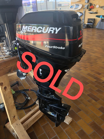 2003 15Hp Mercury Outboard