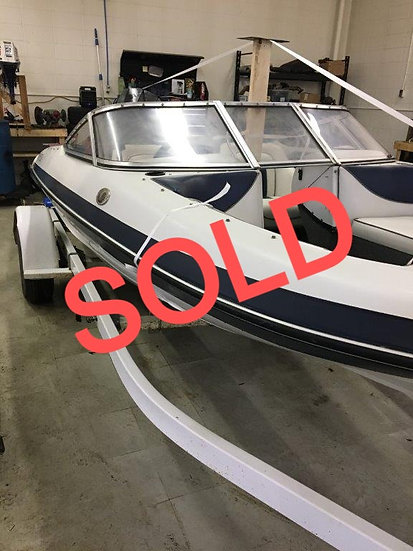 1996 16ft Silver line Bow rider 1660SS