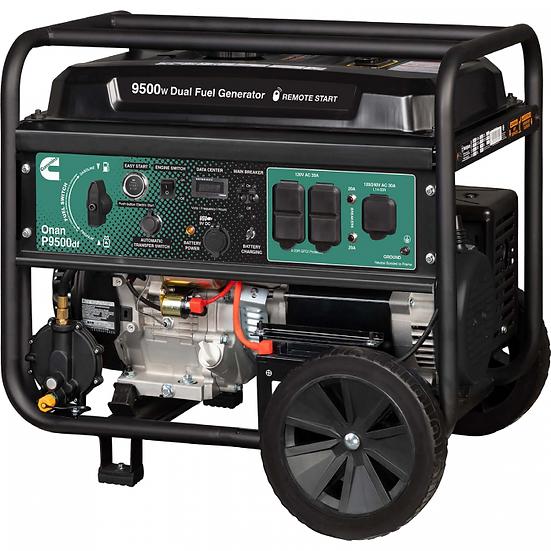 Onan P9500df Dual Fuel (Gas/LPG) Portable Generator