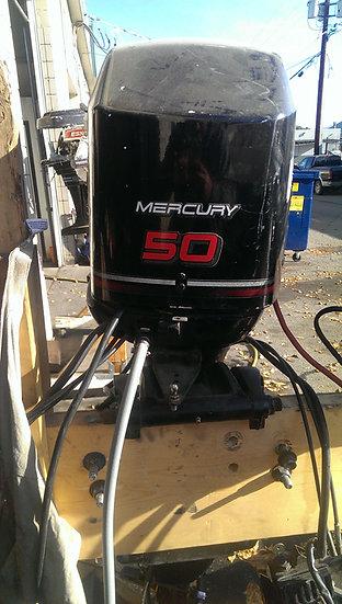 50HP Mercury 4 stroke