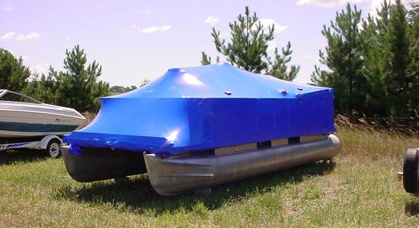 Pontoon Boat Shrink Wrap