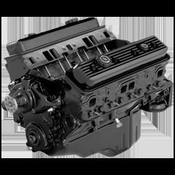 Reman 383 MAG V8 Longblock- Quicksilver