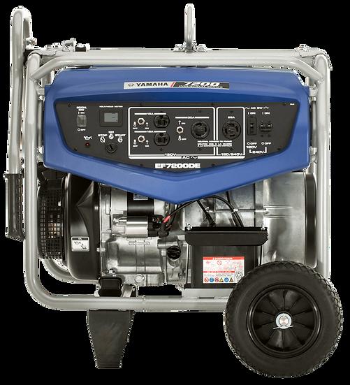 Yamaha EF7200DE Gas Portable Generator