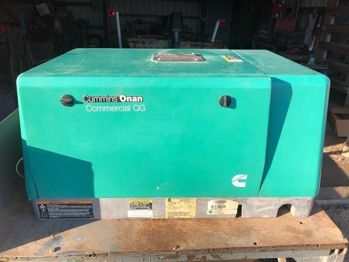 Used Cummins Onan 5500 QG Commercial Generator