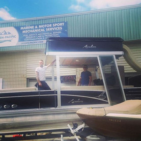 Big parties need big barges._#jaxsenpaci