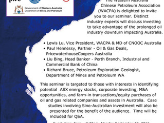 Investment opportunities in Australia's low oil price environment