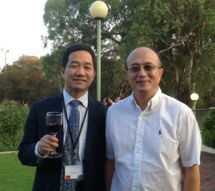 MR Yang Lei and Mr Chet Wang