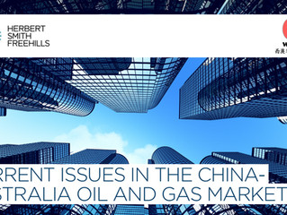 CURRENT ISSUES IN THE CHINA-AUSTRALIA OIL AND GAS MARKET