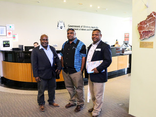 Delegation of PNG Department of Petroleum and Energy undertake training in Australia