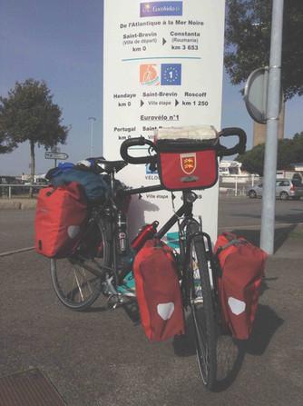 3200 km de l'Atlantique à la Serbie - avril et juin 2015